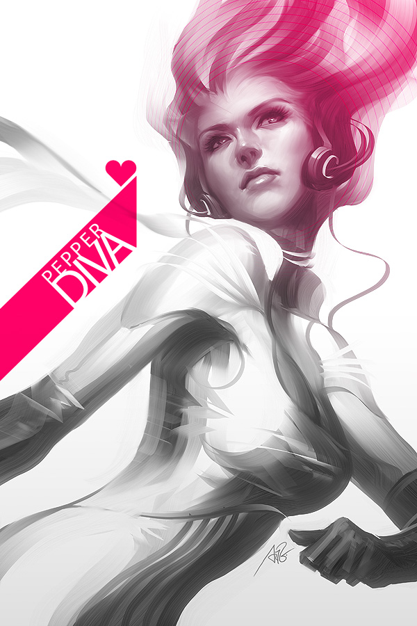 Pepper Diva by Artgerm