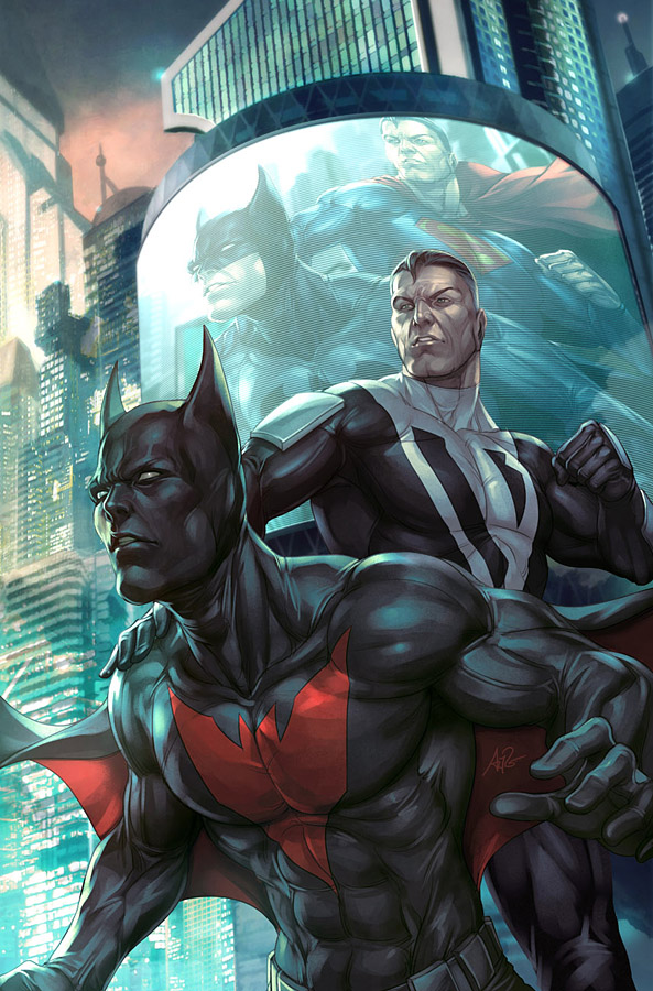 BatmanSuperman Annual 4 by Artgerm