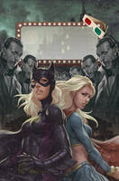 Batgirl 14 by Artgerm