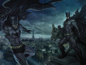 Bruce Wayne - Dick Grayson