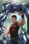 Superboy 4 Variant Cover