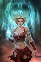 Salem's Daughter 1 by Artgerm