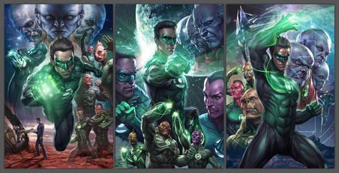 Green Lantern - Licensing Art