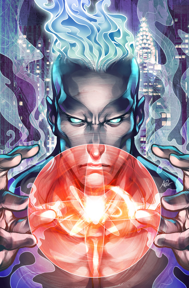 Captain Atom - Issue 1 by Artgerm