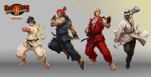 Street Fighter III OE Art 1 by Artgerm