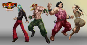 Street Fighter III OE Art 2