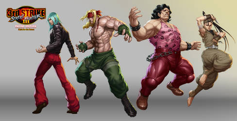 Street Fighter III OE Art 2 by Artgerm