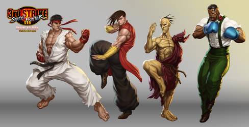 Street Fighter III OE Art 3 by Artgerm