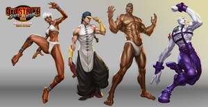 Street Fighter III OE Art 4