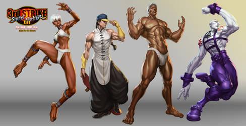 Street Fighter III OE Art 4 by Artgerm