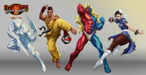 Street Fighter III OE Art 5