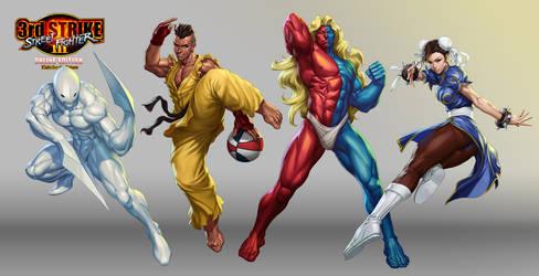 Street Fighter III OE Art 5 by Artgerm