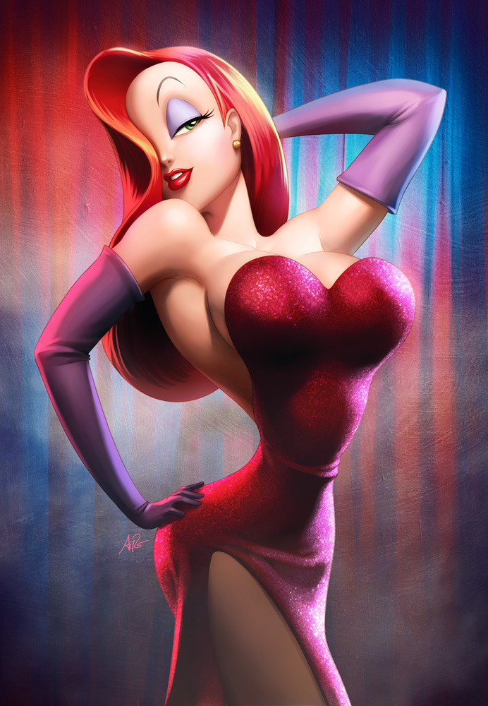 Jessica Rabbit by Artgerm