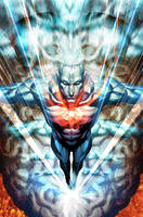 Captain Atom - Issue 2 by Artgerm