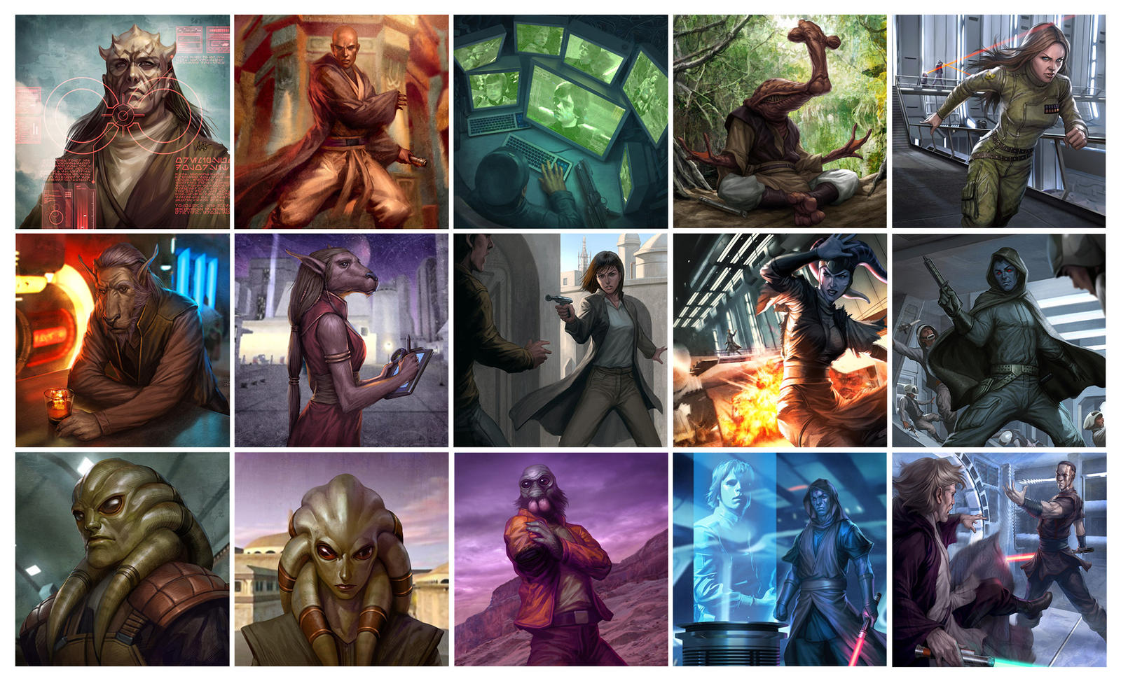 Star Wars TCG by Artgerm