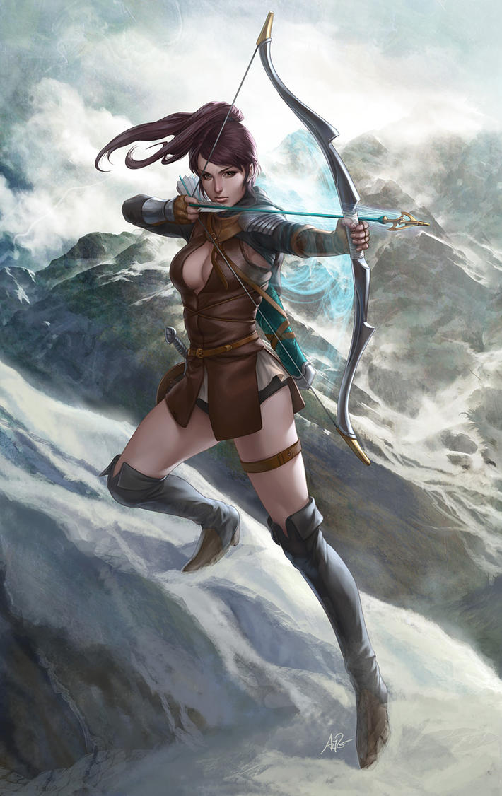 English Archer by Artgerm