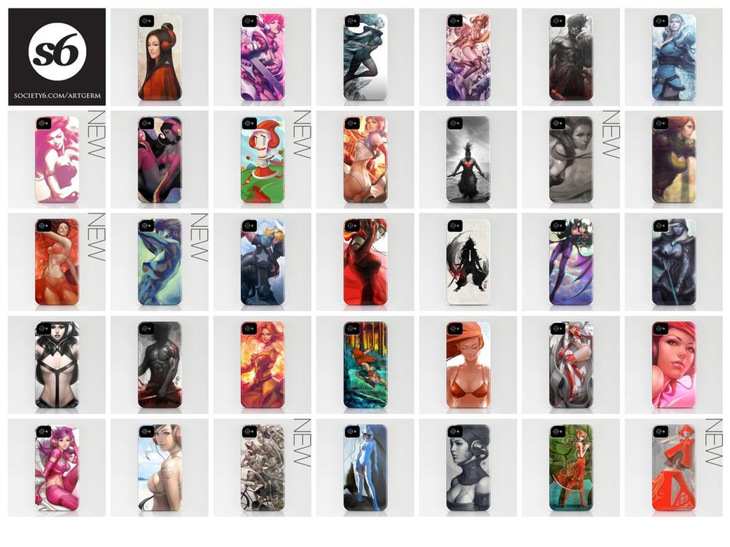 Artgerm's iPhone Cases by Artgerm