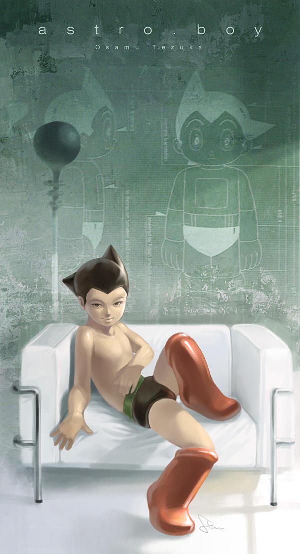 Astro Boy by Artgerm