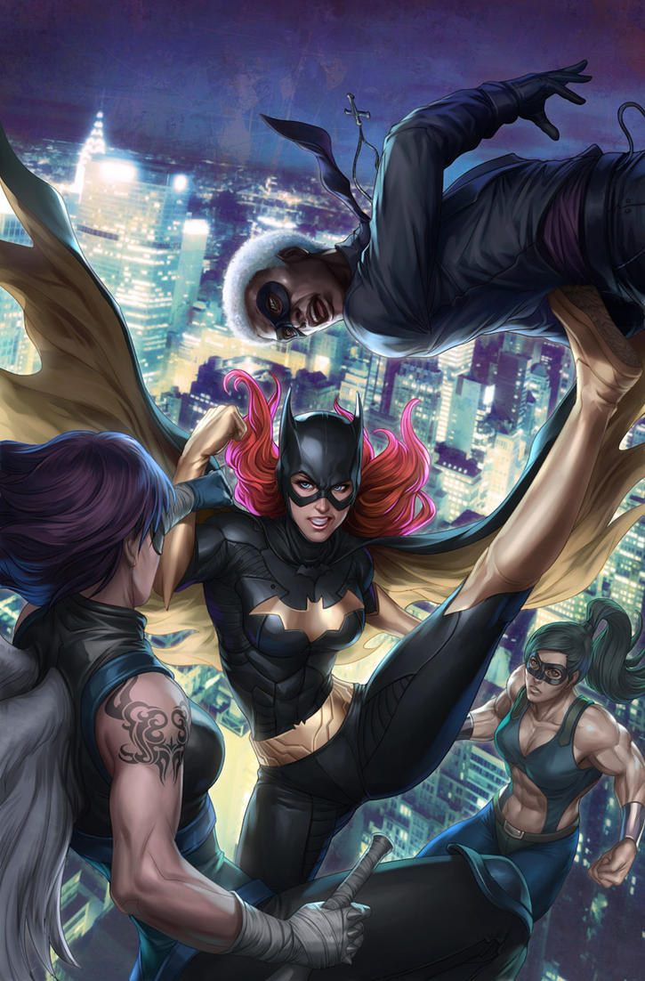 New Batgirl 11 by Artgerm