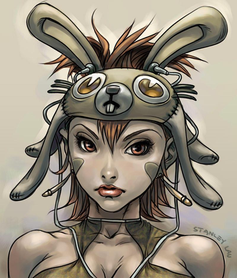 Bunny Gal by Artgerm