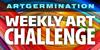 Artgermination Challenge Stamp by Artgerm