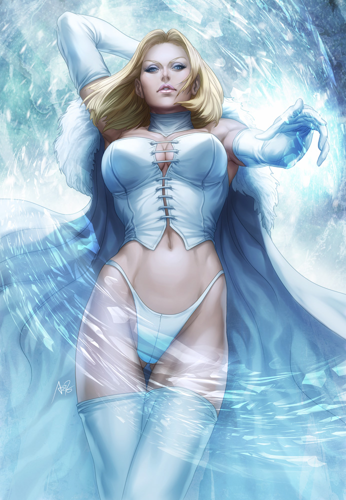 comics girls emma frost - photo #4