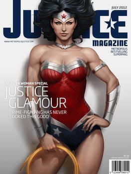 Justice Mag - Wonder Woman