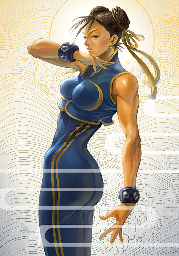 Completely ChunLi by Artgerm