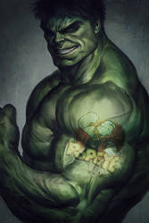 Hulk for fun by Artgerm