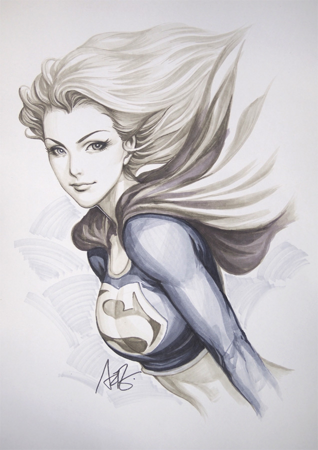 Super girl original1 by artgerm