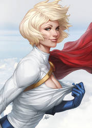 Another Breezy Day by Artgerm