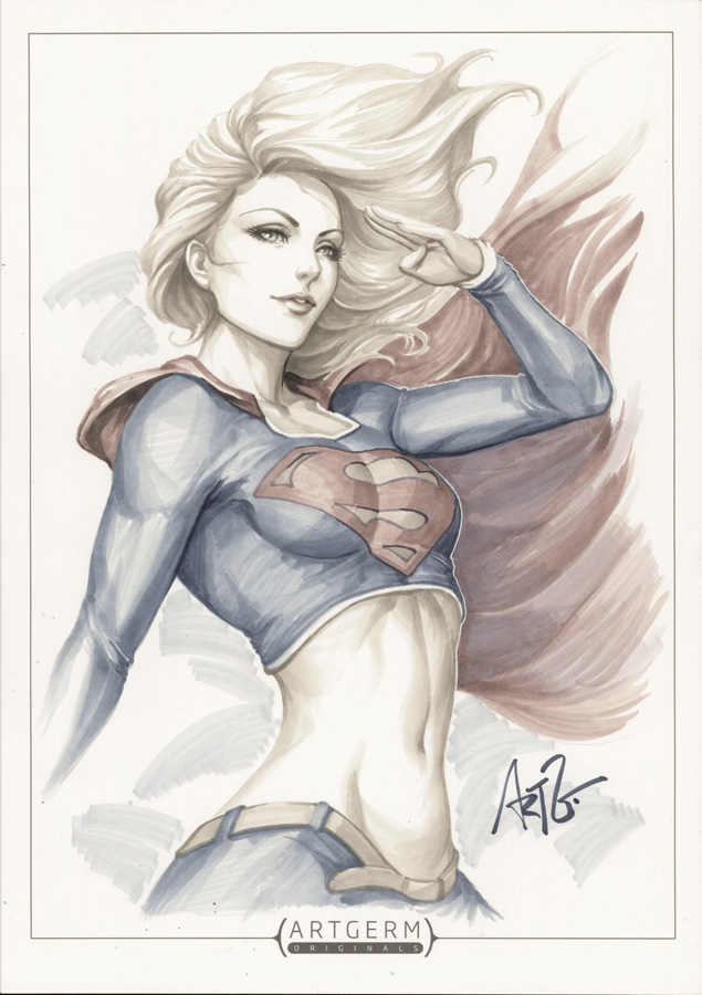 Supergirl 2 by Artgerm