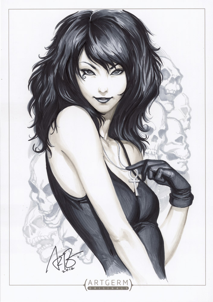 Death 1 by Artgerm