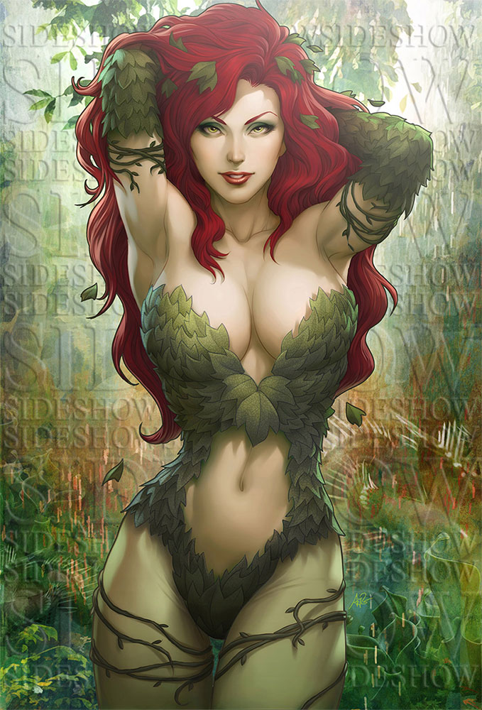 Poison Ivy Sideshow Art by Artgerm