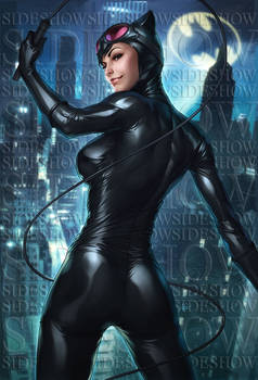 Catwoman Sideshow Art