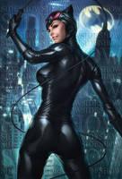 Catwoman Sideshow Art