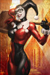Harley Quinn Sideshow Art