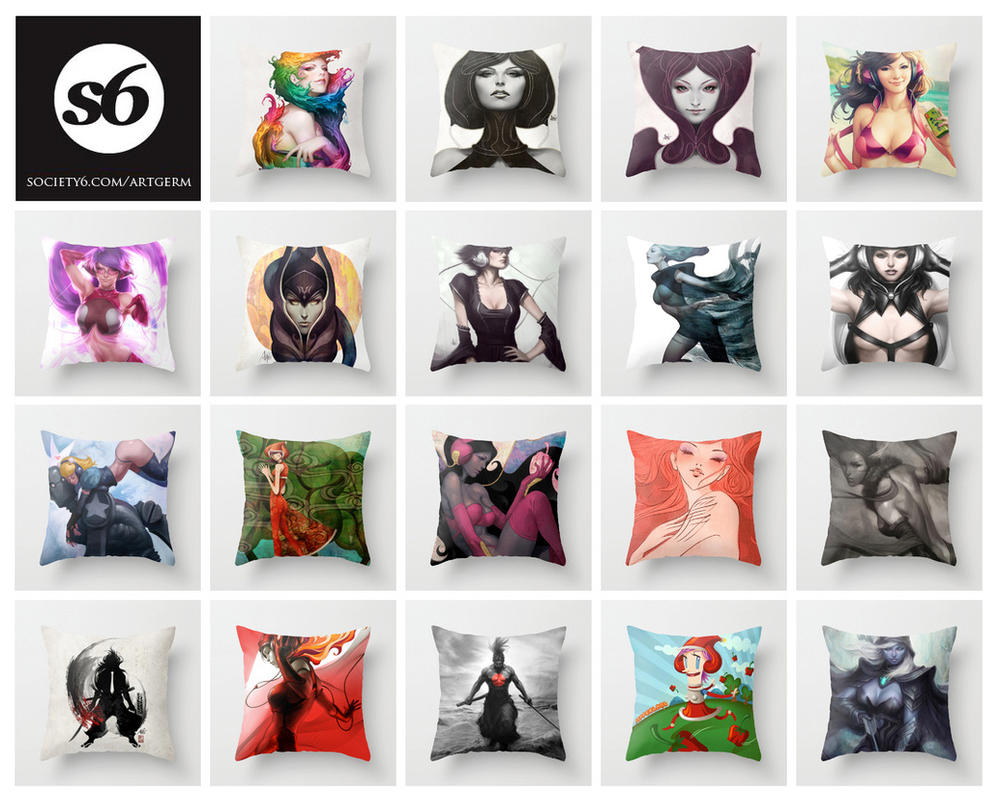 My Art Pillows by Artgerm