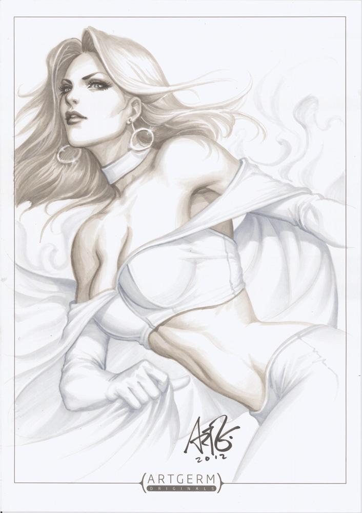 Emma Frost Original 1 by Artgerm