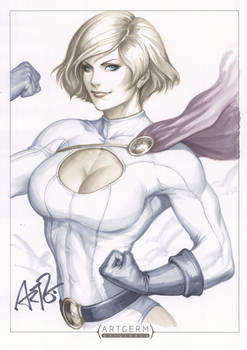 Power Girl Original Art 1