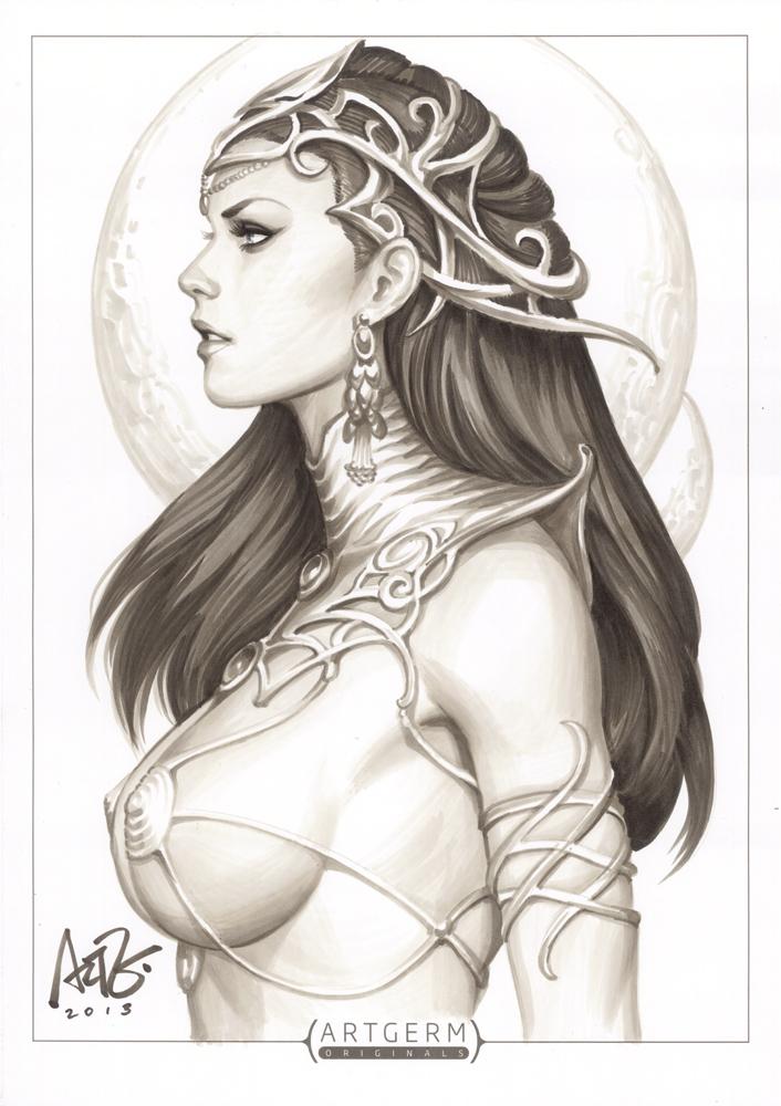 Dejah Thoris Original 1 by Artgerm