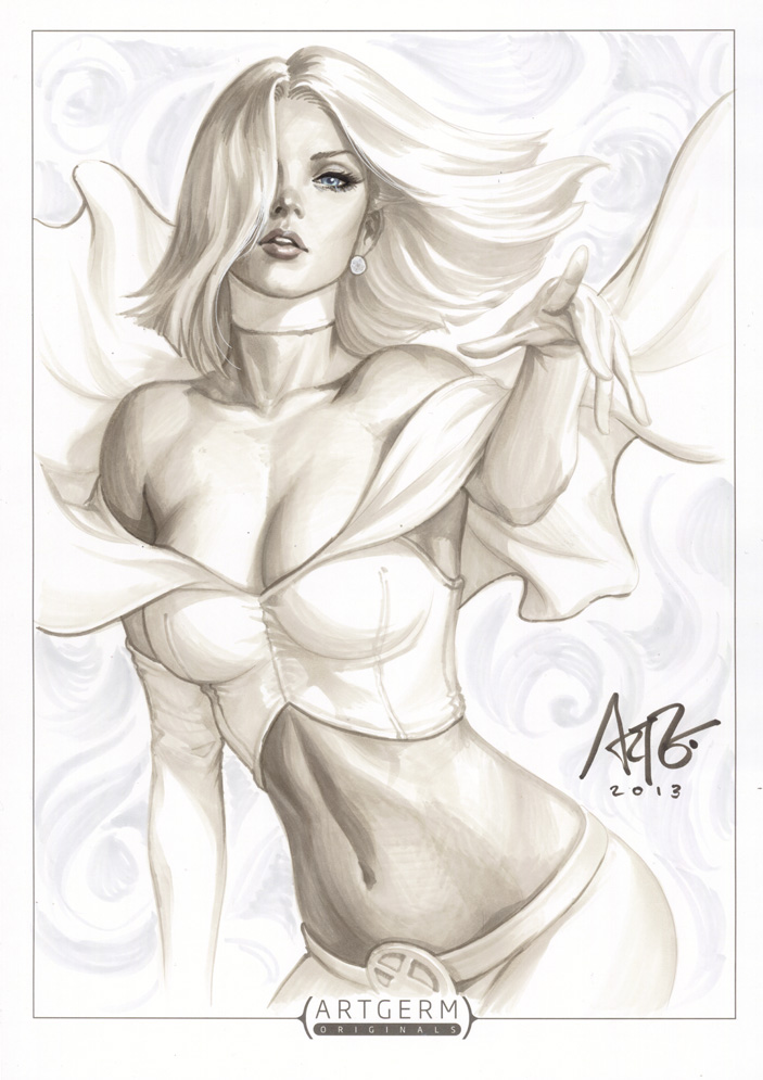 Emma Frost Original 2 by Artgerm