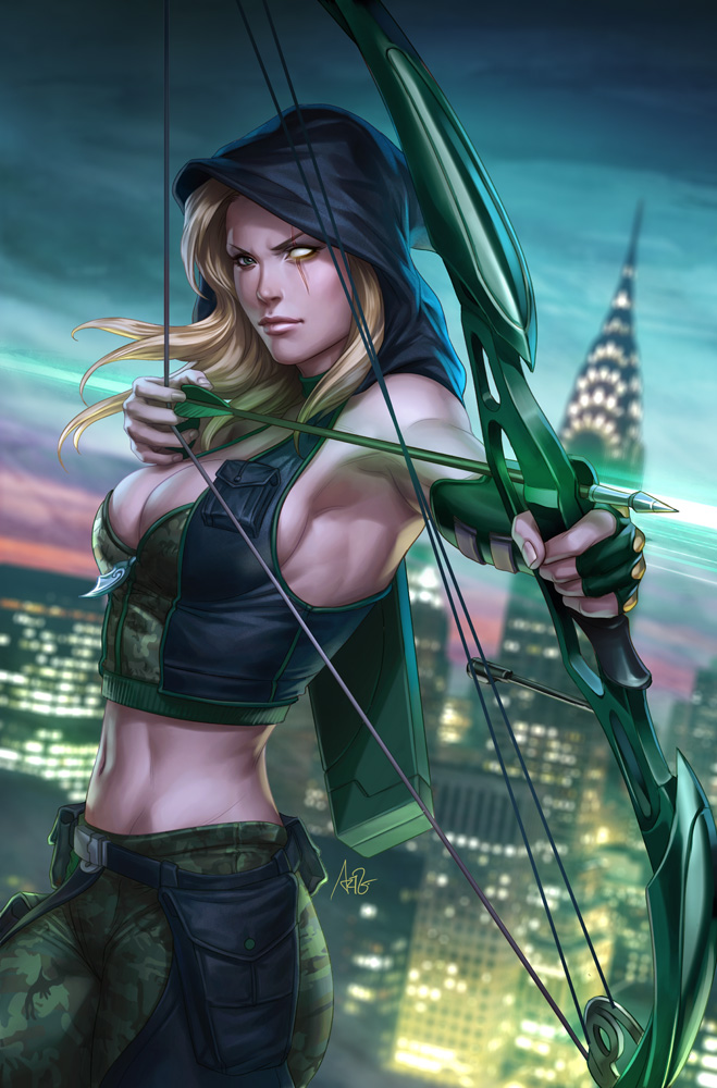 Robyn Hood Wanted 1 by Artgerm