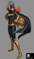 DC Comics Cover Girls - Batgirl