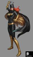 DC Comics Cover Girls - Batgirl by Artgerm