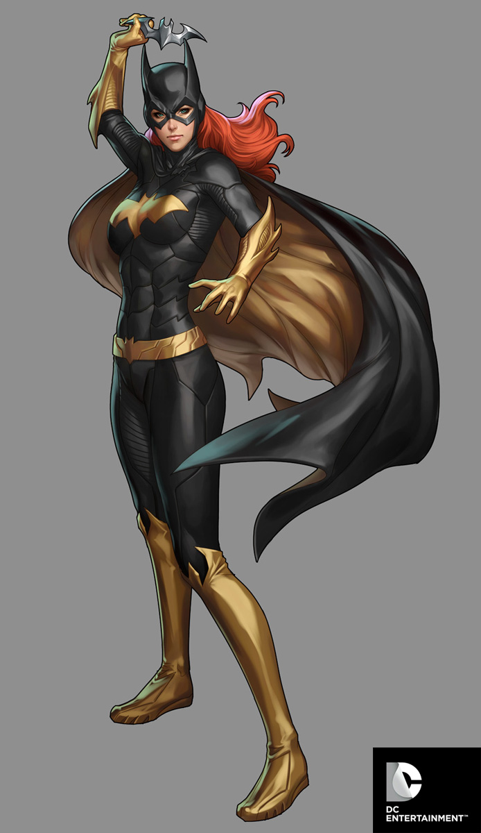 DC Comics Cover Girls - Batgirl by Artgerm
