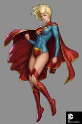DC Comics Cover Girls - Super Girl