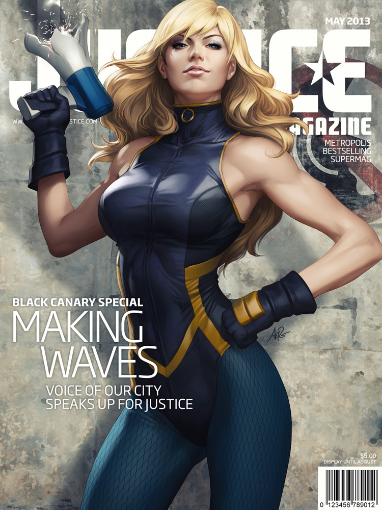 Justice Mag - Black Canary