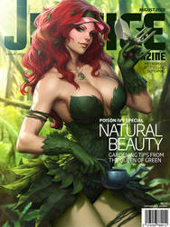 Justice Mag - Poison Ivy by Artgerm