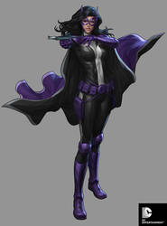 DC Comics Cover Girls - Huntress